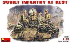 MiniArt 35001 SOVIET INFANTRY AT REST (1943-45) (1:35)