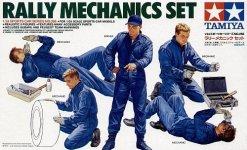 Tamiya 24266 Rally Mechanics Set (1:24)