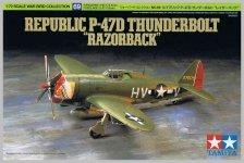 Tamiya 60769 Republic P-47D Thunderbolt Razorback 1/72