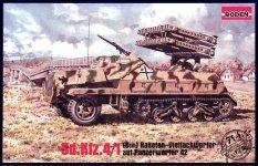Roden 714 Sd.Kfz.4/1 Panzerwerfer 42 (8cm) (1:72)