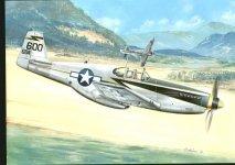 Kovozavody Prostejov KPM0033 North-American P-51C Mustang, USAAF 1:72