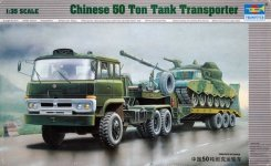 Trumpeter 00201 50T Tank Transporter (1:35)