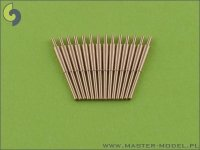 Master SM-350-018 British 4in/45 (10.2 cm) QF HA Marks XVI barrels (14pcs)