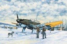 Trumpeter 03215 Junkers Ju-87B-2 U4 Stuka (1:32)