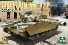 Takom 2027 BRITISH MAIN BATTLE TANK CHIEFTAIN Mk.5/P
