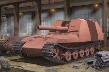 Trumpeter 01540 Geschutzwagen Tiger Grille21/210mm Mortar 18/1 L/31 (1:35)