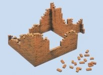 Italeri 0405 Brick Walls (1:35)