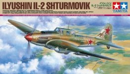 Tamiya 61113 Ilyushin Il-2 Shturmovik (1:48)