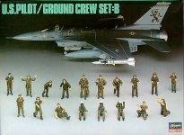 Hasegawa X48-5 US Ground Crew Set B (1:48)