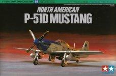 Tamiya 60749 P-51D Mustang 1/72