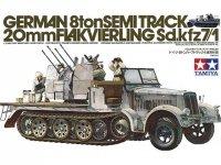 Tamiya 35050 German Half Track Sdkfz 7/1 (1:35)