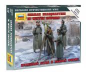 Zvezda 6232 German headquarters in winter uniform (1:72)