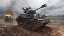 Italeri 6529 M4A3E8 SHERMAN FURY