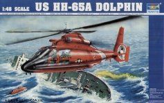 Trumpeter 02801 Eurocopter HH-65A Dolphin (US Coast Guard) (1:48)