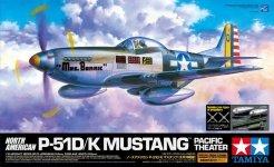 Tamiya 60323 P-51D/K Mustang - Pacific Ocean Front (1:32)