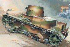 Mirage Hobby 35304 VICKERS E Mk B tank (1:35)