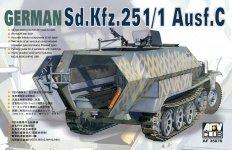 AFV Club 35078 German Sd Kfz 251/ Ausf C Schutzenpanzer (1:35)