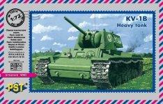 PST 72014 KV-1B Heavy tank 1/72