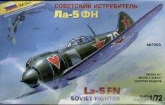 Zvezda 7203 Lavochkin La-5FN Soviet fighter (1:72)