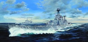 Trumpeter 03710 HMS Hood Battle Cruiser 1/200