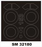 Montex SM32180 I-153 Chaika ICM 1:32