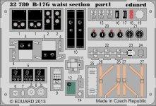 Eduard 32780 B-17G waist section 1/32 HK Models