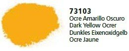 Vallejo 73103 Dark Yellow Ocrer
