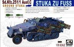 AFV Club 35091 Sd.Kfz. 251/1 ausf.C Stuka Zu Fuzz (1:35)