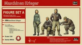 Hasegawa MK02 (64002) Ma.K. FIGURE SET A (Mercenary Troops' Arms Cold District Maintenance Soldiers)