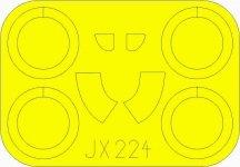 Eduard JX224 I-16 Type 29 ICM 1/32