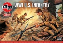 Airfix 00729V WWI US Infantry 1:76