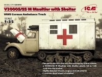 ICM 35414 V3000S/SS M Maultier with Shelter (1:35)