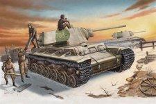 Trumpeter 00359 Russia KV-1 model 1942 Heavy Cast Turret Tank (1:35)