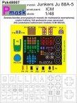 P-Mask PZK48007 JUNKERS JU88-A5 (ICM 48232) (1:48)