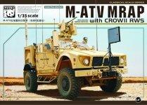 Panda Hobby 35007 M-ATV MRAP with CROW II RWS (1:35)