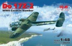 ICM 48244 Do 17Z-2 WWII German Bomber (1:48)