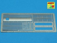 Aber 35G16 Grilles for russian tank KV-1 and KV-2 (1:35)