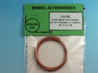 Eureka XXL LH-06 1.35mm x 50cm Metal wire rope, linka holownicza