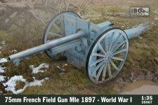 IBG 35067 - 75mm French Field Gun Mle 1897 - World War I 1/35