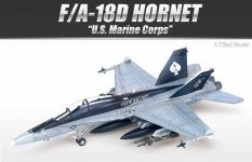 Academy 12422 F/A-18D Hornet US Marines (1:72)