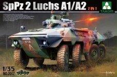 Takom 2017 Bundeswehr SpPz 2 Luchs A1/A2 2 in 1