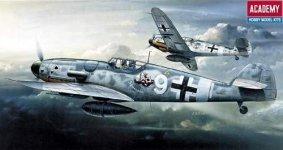 Academy 12467 Bf-109 G6 Messerschmitt (1:72)