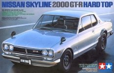 Tamiya 24194 Nissan Skyline 2000GT-R Hard Top (1:24)