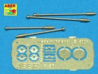 Aber R-20 German with indicators for Sd.Kfz.234 - 4 pcs. (1:35)