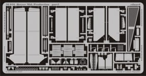 Eduard 36016 Hetzer Mid. Production 1:35 Tamiya