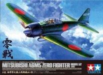 Tamiya 60318 Mitsubishi A6M5 Zero Fighter Model 52 (1:32)