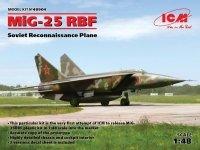 ICM 48904 MiG-25 RBF, Soviet Reconnaissance Plane (1:48)