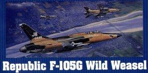 Trumpeter 02202 Republic F-105G Wild Weasel (1:32)