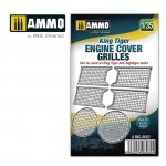 Ammo of Mig 8082 King Tiger engine cover grilles 1/35