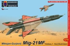 Kozavody Prostejov KPM0088 MiG-21MF 1/72